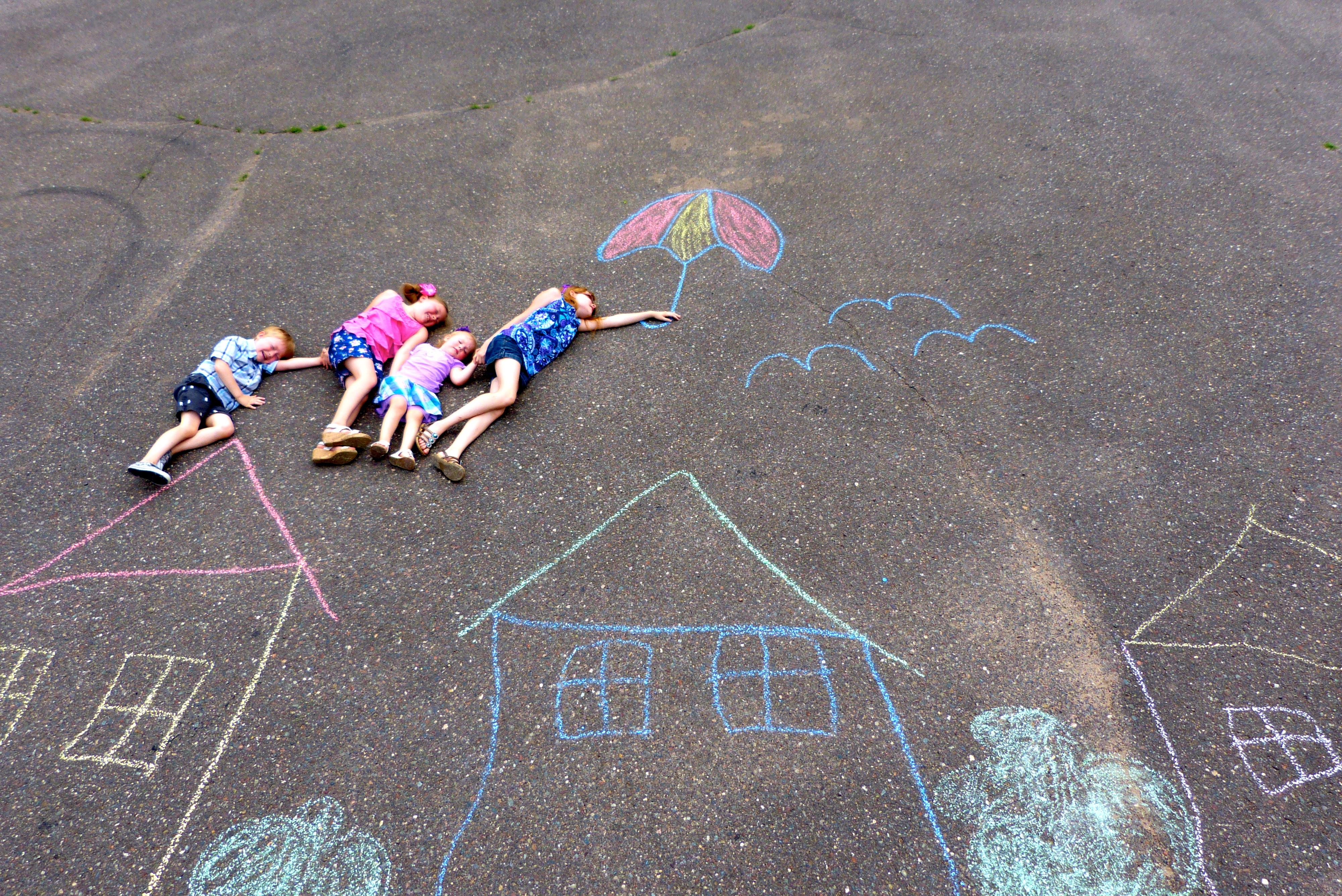 Summer Fun With Sidewalk Chalk Life Exquisite